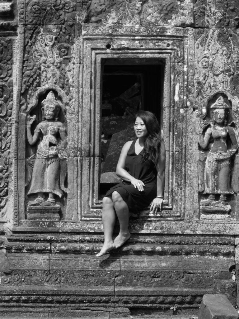 CK Angkor Window_BW